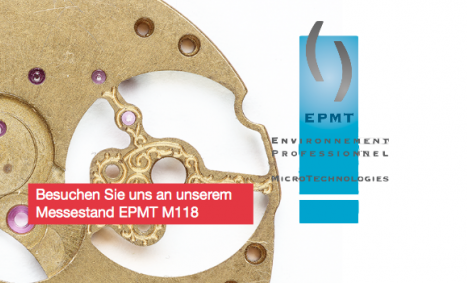 Microwaterjet has its own both M118 at the microtechnology show EPHJ-EPMT in Geneva.